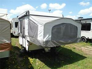 2013 Palomino 8CLS 8' Tent Trailer - Sleeps 5- Only 1273LBS!!! Stratford Kitchener Area image 1