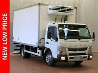 2012 FUSO CANTER 7C18 34 Fridge. Finance Options Available Diesel white Automati