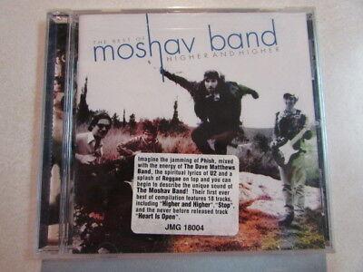 THE BEST OF THE MOSHAV BAND HIGHER AND HIGHER CD PHISH U2 DAVE MATTHEWS