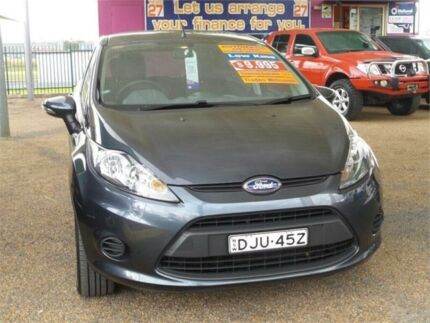 2010 Ford Fiesta WT LX PwrShift Charcoal 6 Speed Sports Automatic Dual Clutch Hatchback