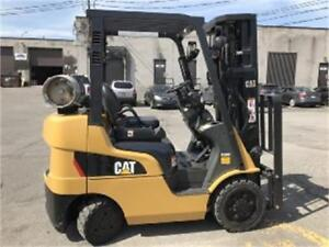 2012 CATERPILLAR FORKLIFT 5000LB CAPACITY INDOOR &OUTDOOR