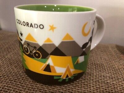 Starbucks Colorado You Are Here 2013 Collector Series Coffee Mug 14oz New NWOB