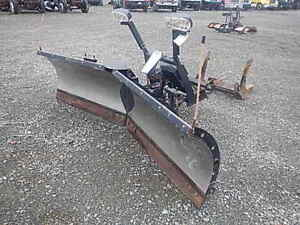 "9.5"" Snow Dogg Folding Vee Plow"