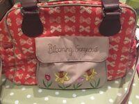 Change bag pink lining