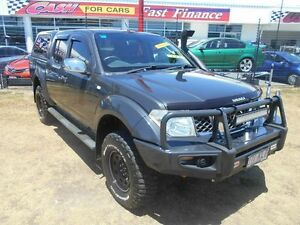 2007 Nissan Navara D40 ST-X Grey 6 Speed Manual Utility Kippa-ring Redcliffe Area Preview
