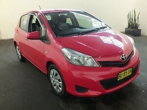 2013 Toyota Yaris NCP131R YRS Cosmopolitan 4 Speed Automatic Hatchback Clemton Park Canterbury Area Preview