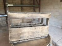 Antique Old Wooden Wine crates