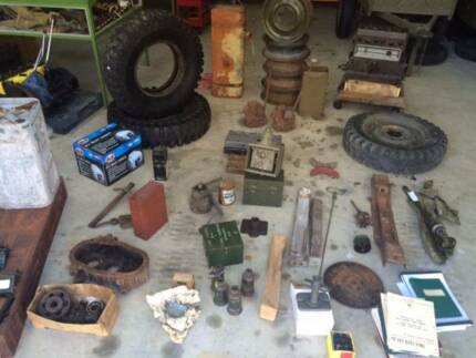 WW2 ARMY JEEP BLITZ LANDROVER PARTS Gumdale Brisbane South East Preview