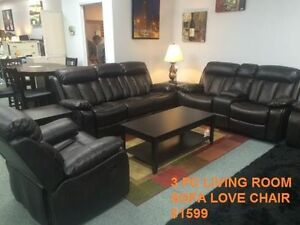 OVERSTOCK SALE ON SOFA'S & RECLINER SETS Kitchener / Waterloo Kitchener Area image 2