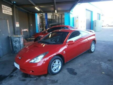 2000 Toyota Celica ZZT231R SX Red 6 Speed Manual Liftback Stafford Brisbane North West Preview