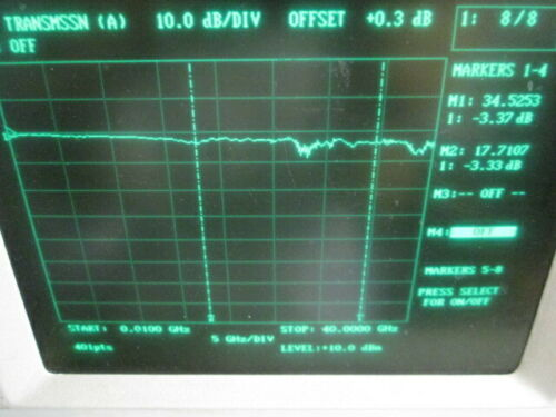 Bias Tee Picosecond Pulse Labs 5545, 20 GHz TESTED!