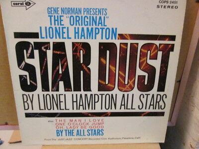 Lionel Hampton All Stars: Star Dust. Vinyl-LP, RE, MCA Coral, Germany.