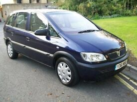 2004 VAUXHALL ZAFIRA 1.6 CLUB (PARTS ONLY) IN BLUE
