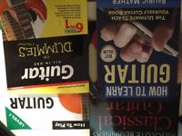Lot of 4 books , beginner learn how to play guitar