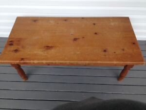 Rustic Solid Pine Coffee Table