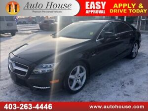 2012 MERCEDES CLS550 AMG PACKAGE NAVIGATION BACKUP CAMERA AWD