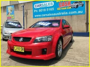 2008 Holden Commodore VE SV6 Red 5 Speed Sports Automatic Sedan Kogarah Rockdale Area Preview
