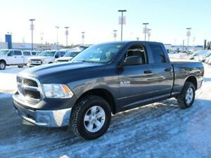 2017 Ram 1500 ST, 3.6L V6, 4X4, UCONNECT, AIR CONDITIONING, CRUI