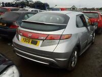 HONDA CIVIC BREAKING FOR SPARES 2006 ONWARDS TEL 07814971951 WE HAVE FEW IN STOCK
