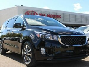 2018 Kia Sedona SX+, HEATED FRONT/REAR SEATS, HEATED WHEEL, POWE
