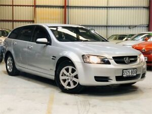 2010 Holden Commodore VE MY10 Omega Silver Automatic Wagon Green Fields Salisbury Area Preview