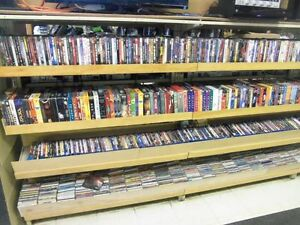 DVD, VHS, Blue Ray, CD, All Types