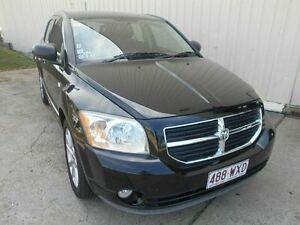 2011 Dodge Caliber PM MY11 SXT Black 6 Speed Constant Variable Hatchback Kippa-ring Redcliffe Area Preview