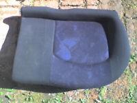 PEUGEOT 206 2.0HDi , 2000 , 4 x Blue Pattern Rear Bench Seats - GC - USED