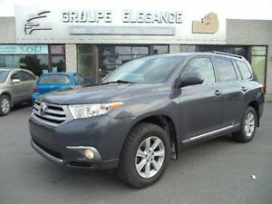 2012 Toyota Highlander-V6 AWD-7PLACE-CAMERA RECULE