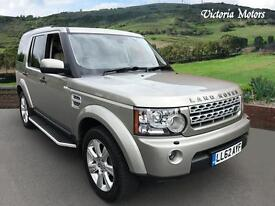 2013 LAND ROVER DISCOVERY 3.0 SDV6 255 HSE 5dr Auto
