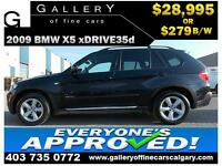 2009 BMW X5 xDrive35d $279  bi-weekly APPLY TODAY DRIVE TODAY