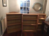 "IKEA ""Billy"" Shelves x 3"
