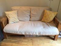 2 seater sofa-bed, Futon Company, good condition