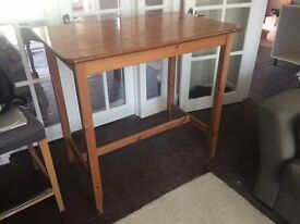 Ikea Bar Table and stall