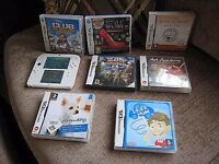 Nintendo 2DS WITH 8 GAMES ( Mario one built in ) inc charger
