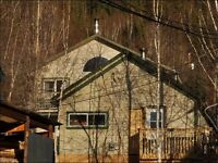 Two homes on one lot for sale in Dawson City