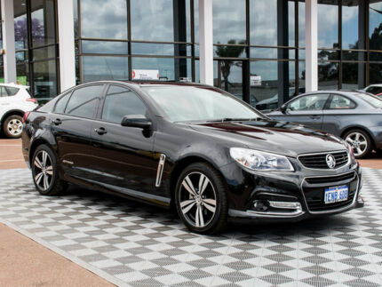 2014 Holden Commodore VF MY14 SV6 Storm Black 6 Speed Sports Automatic Sedan Alfred Cove Melville Area Preview