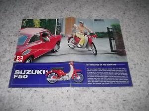 Suzuki F 50 Sales Brochure