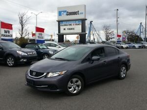 2014 Honda Civic ONLY $19 DOWN $58/WKLY!!