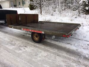 Karavan 2-Place Snowmobile Trailer Prince George British Columbia image 3