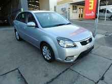 2010 Kia Rio JB MY10 Sports Special Edition Silver 5 Speed Manual Hatchback Yeerongpilly Brisbane South West Preview