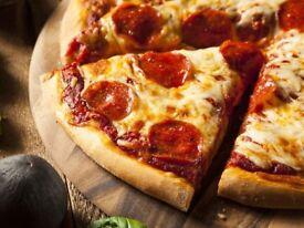 Pizza staff
