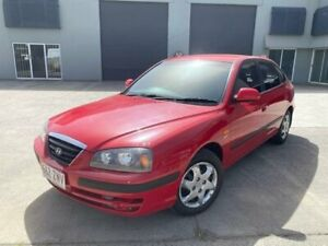 2005 Hyundai Elantra XD MY05 FX 2.0 HVT Red 4 Speed Automatic Hatchback Burleigh Heads Gold Coast South Preview