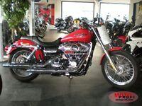 Harley Davidson Dyna Superglide. 2013. 3800 miles