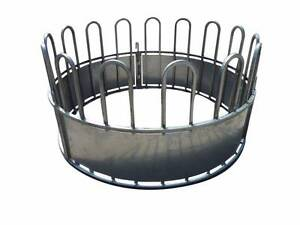 Three piece round hay feeder Arcadia Hornsby Area Preview