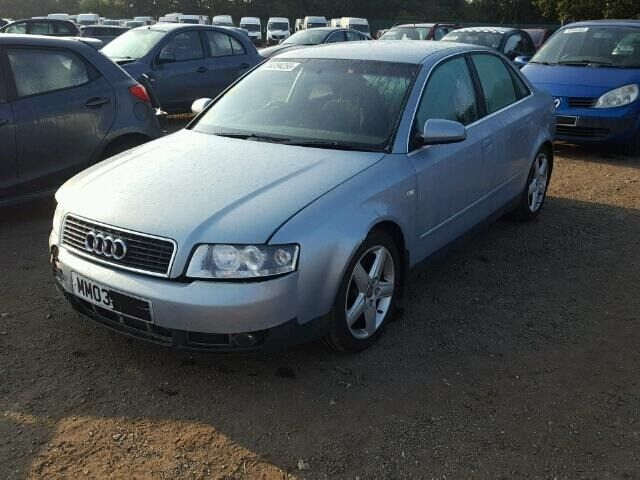 Breaking Audi A4 B6 25 V6 Tdi 2003 Crystal Blue Colour Code Ly7r