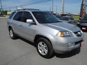 2005 Acura MDX 7 PASSENGER - AWD - LEATHER - SUNROOF - CERTIFIED