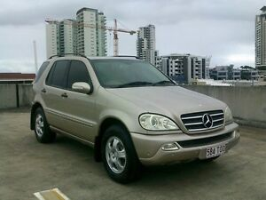 2003 Mercedes-Benz ML270 CDI W163 MY2002 Luxury Gold 5 Speed Sports Automatic Wagon Southport Gold Coast City Preview