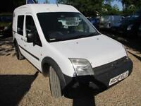 2007 Ford Transit Connect 1.8TDCi High Roof 5 SEATER Crew Van NO VAT T230 LWB