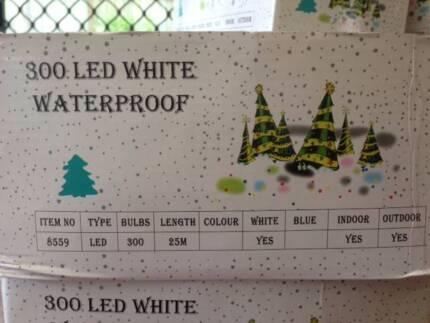 Christmas lights - 300 LED white fairy lights